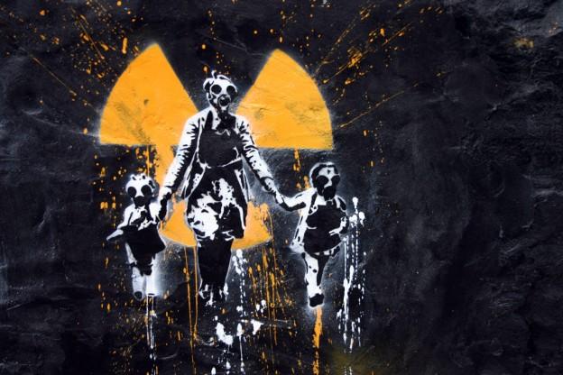 graffiti nuclear Japan